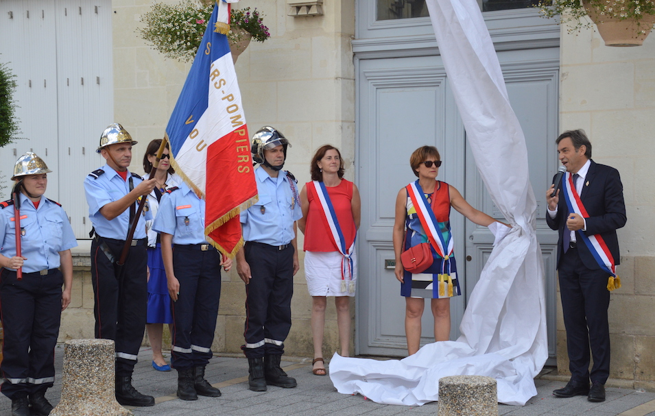 Inauguration à Vouvray