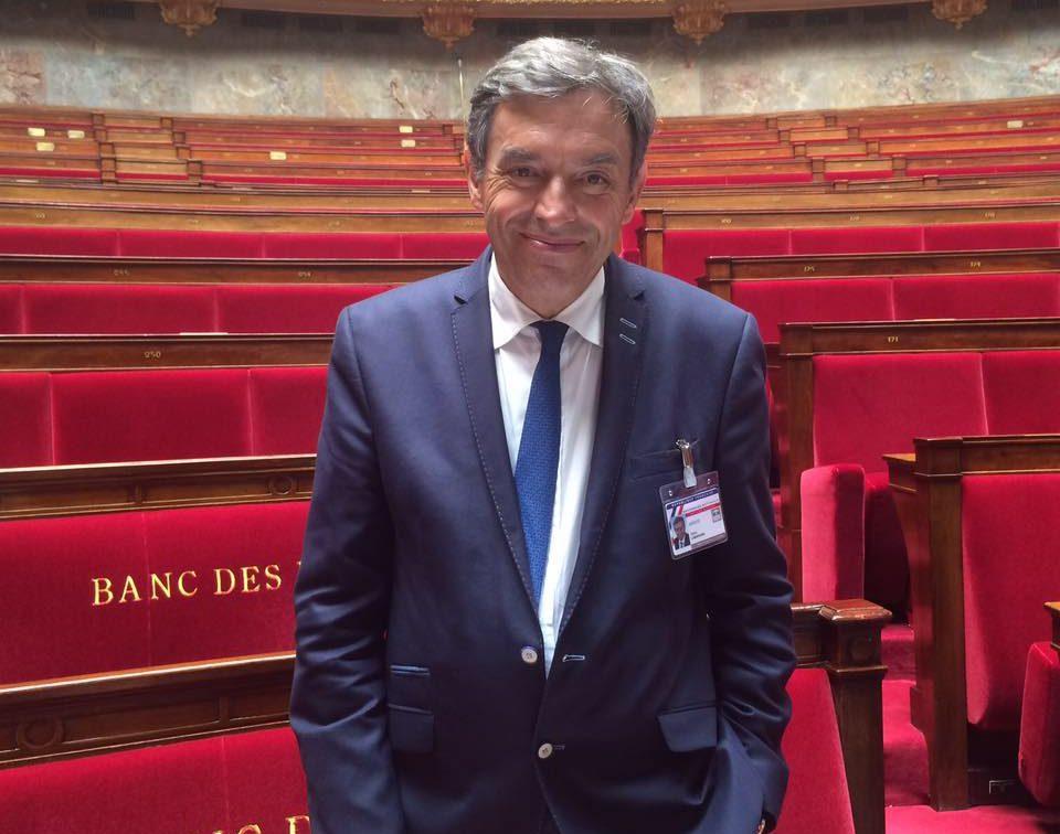 Daniel Labaronne à l'Assemblée nationale