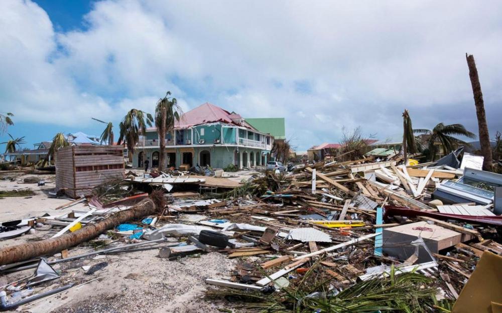 Désolation dans les Petites Antilles françaises après le passage de l'Ouragan Irma